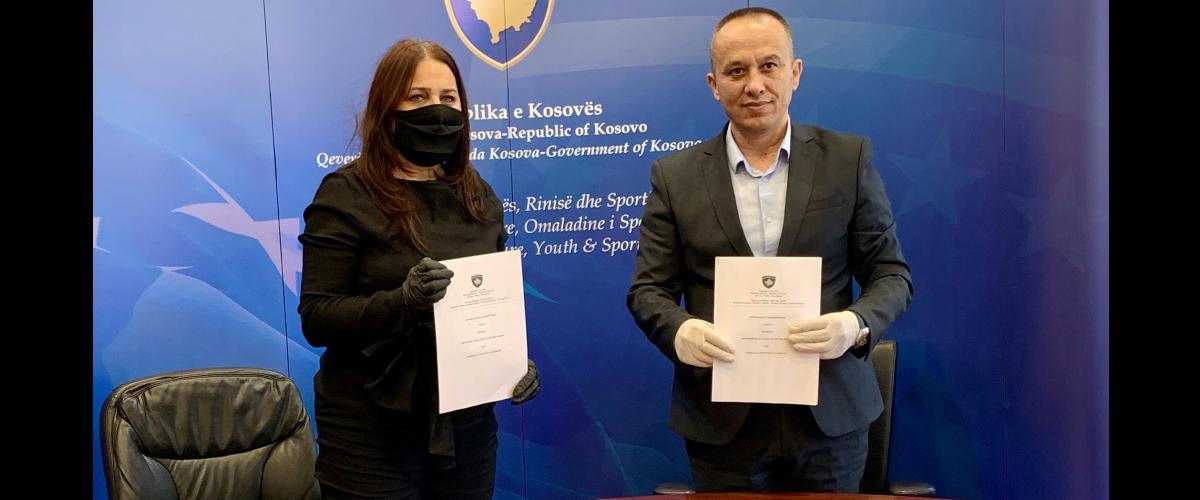 FPPK nënshkroi memorandumin e bashkëpunimit me MKRS-në