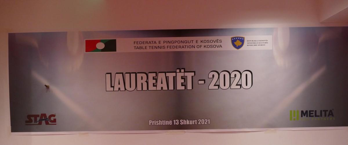 FPPK shpalli mëtë mirët për vitin 2020 – Linda Zeqiri dhe Kreshnik Mahmuti me te miret