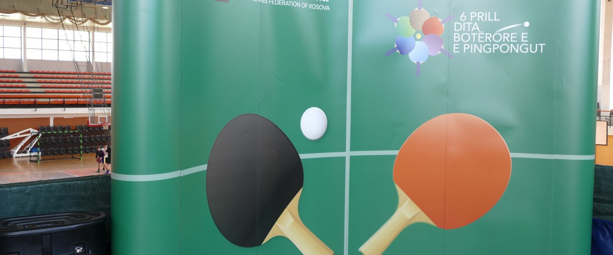 u shënua dita botërore e pingpongut
