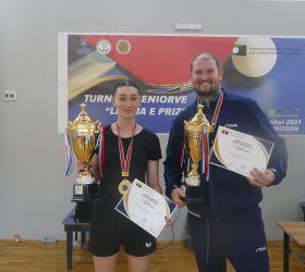 Christopher Doran dhe Iva Dimitrievska fitues të turneut për senior