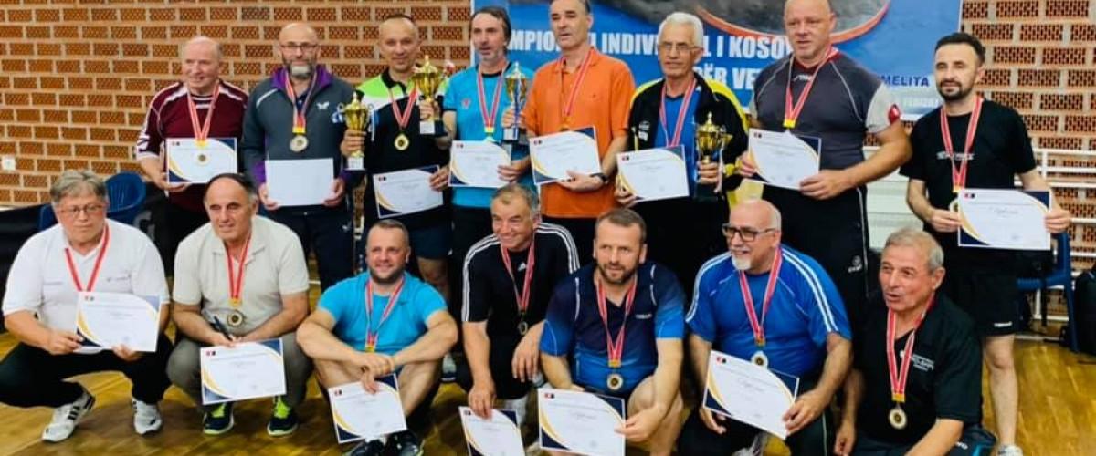 Organizohet Kampionati Individual i Kosovës për Veteranë
